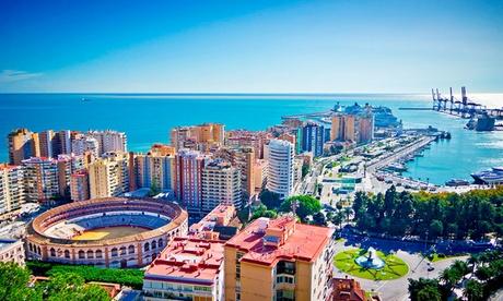 Málaga: habitación doble o twin para 2 personas con opción a desayuno en Vincci Málaga 4*
