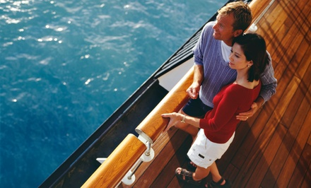 Saturday Sunset or Sunday Brunch Yacht Cruise for Two for Four from Newport Fun Tours (Up to 65% Off)