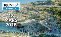 Run In Marseille 2018 - Dossard10 km, semi-marathon ou marathon, pr 1 ou 2 pers. dès 19€ avec Amaury Sport Organisation