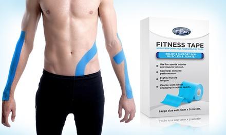 1 o 2 cintas de kinesiología para apoyar los músculos y las articulaciones