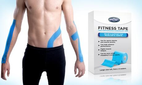 1 o 2 cintas de kinesiología para apoyar los músculos y las articulaciones (envío gratuito)