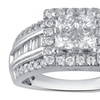 1.33 CTTW Diamond Engagement Ring in 10K White Gold