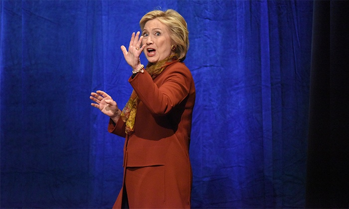 """""""50 Shades of Hillary"""" - The Palm Beaches Theatre: """"50 Shades of Hillary"""" (April 22–24)"""