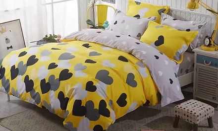 Six Piece King Size Duvet Cover Sets (AED 99) in Choice of Design