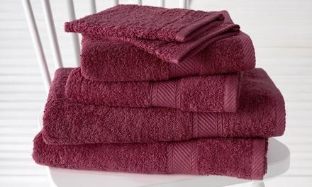 Set di 6 asciugamani