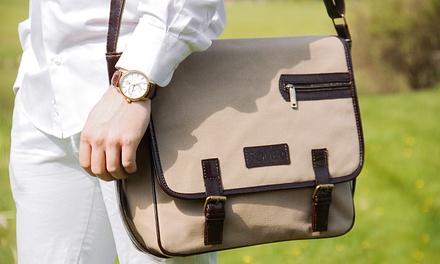 Solier Schultertasche für Herren 76,90 € - Kleidung & zubehör - herren - handtaschen