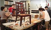 The Green Painter by New Living - Greater Heights: Two-Hour Furniture-Refinishing Class for One or Two at The Green Painter by New Living (Up to 55% Off)