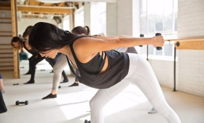 image for $59 for 30 Days of Unlimited <strong>Classes</strong> at The Bar Method - St.Louis ($190 Value)