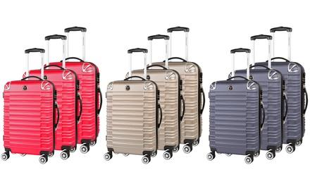 Set de 3 valises rigides en ABS