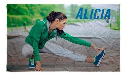Toalla para gimnasio o de de algodón Sun personalizada desde 4,95 € con Lolapix.com