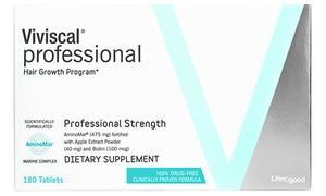 Viviscal Professional Hair Growth Supplement (60 or 180-Count)