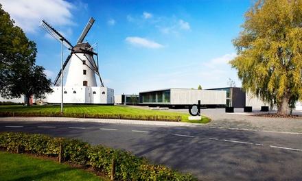 Kortrijk: standaard of design tweepersoonskamer of suite voor 2 pers. incl. ontbijt, naar keuze wellness in 4* DHotel