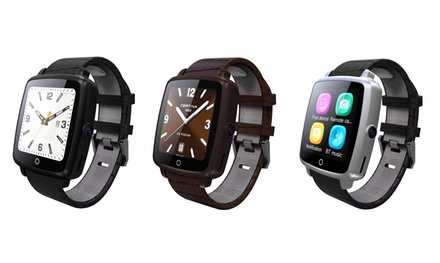 montre connect e smartwatch compatible tous smartphones android et iphone d s 14 95 de. Black Bedroom Furniture Sets. Home Design Ideas