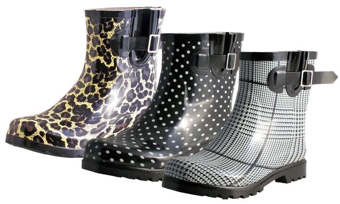 Printed Rain Boots