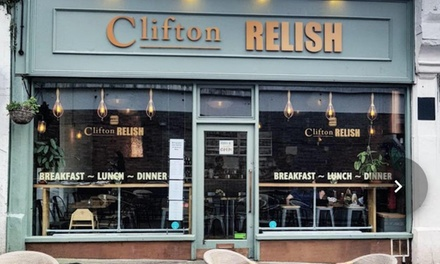 BYOB Beef, Lamb, Chicken or Veggie Burger with Fries for Up to Four at Clifton Relish (Up to 38% Off)