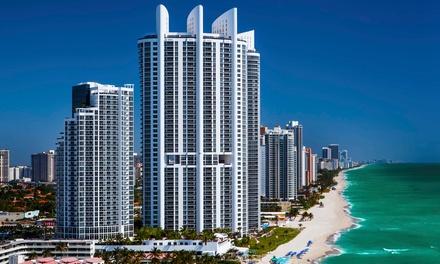 Stay at 4-Star Trump International Beach Resort in Sunny Isles Beach