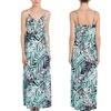 Necessary Objects Palm-Print Maxi Dress