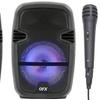 "QFX PBX-85 8"" Portable PA Karaoke Speaker with Bluetooth"