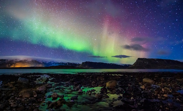 TripAlertz wants you to check out ✈ 5-Day Iceland Trip with Airfare and Northern-Lights Tour from Gate 1 Travel. Price/Person Based on Double Occupancy. ✈ 5-Day Iceland Northern-Lights Trip with Air - Iceland Northern-Lights Vacation