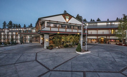 groupon daily deal - 1-Night Stay for Up to Four in a Standard King or Two-Queen Room at Northwoods Resort Big Bear in Big Bear Lake, CA