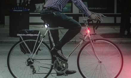 Two LED Bike Lights