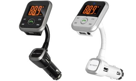 Transmisor FM de Sytech con Bluetooth
