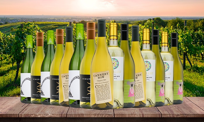 Wine Insiders: 15 Bottles of International Chardonnay from Wine Insiders (75% Off)