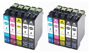 Pack de 4 + 1 cartouches compatibles Epson 502 XL ou 603 XL
