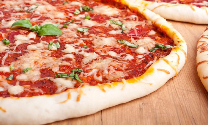 Pizza 57 - Pizza 57: Large Cheese Pizza Meal for Two with wine or beerat Pizza 57 (Up to 47% Off). Two Options Available.