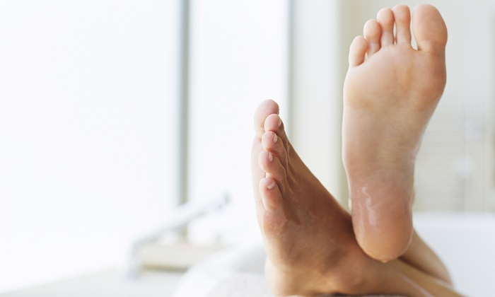 The Aesthetic Medicine and Anti-Aging Clinics of Louisiana - Baton Rouge: Toenail-Fungus Removal for One or Two Feet at The Aesthetic Medicine and Anti-Aging Clinics of Louisiana (Up to 83% Off)