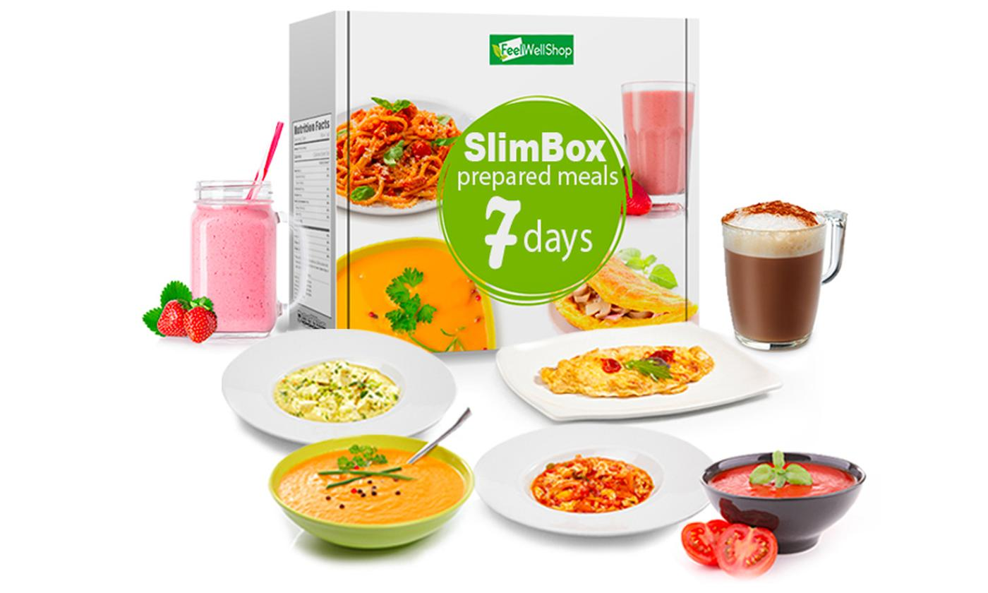 7- or 14-Day SlimBox Prepared Meals