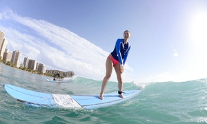 Big Wave Dave Surf Co.: One Group Surf Lesson, Semi-Private Lesson, or Private Lesson from Big Wave Dave Surf Co. (Up to 64% Off)