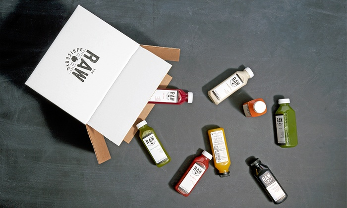 The Raw Juicery: Up to 35% Off Juice Cleanse With Delivery From The Raw Juicery