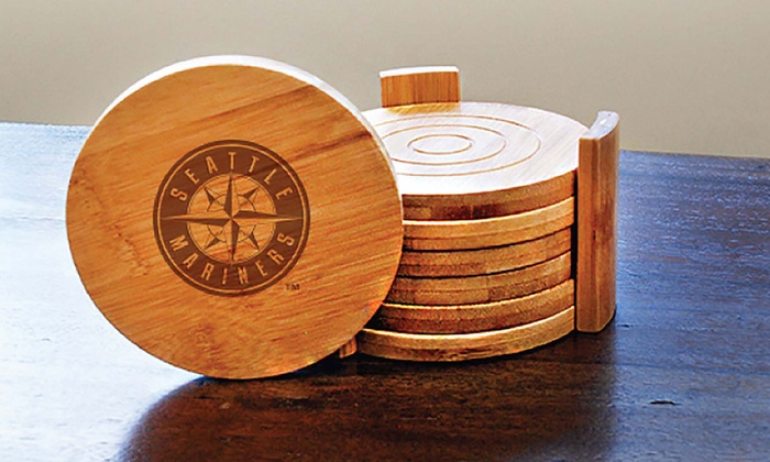 MLB Bamboo Coasters (6-Pack)