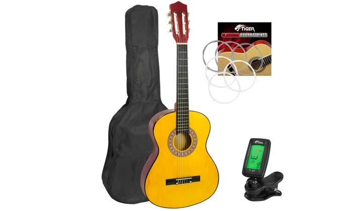Children's Classical Guitar Pack in Choice of Size from £44.98