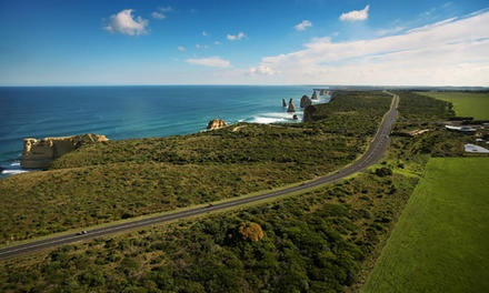 Great Ocean Road: Day Tour for One or Two Adults with Restaurant Lunch + Coach Transport with Melbourne's Best Tours