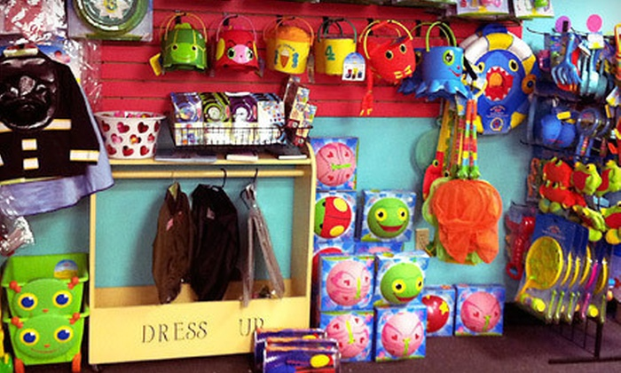 TiddlyWinks Toys - Cowesett: Kids' Toys or Birthday-Party Package for Up to 12 Kids at TiddlyWinks Toys (Up to 58% Off). Three Options Available.