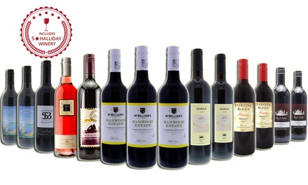 $69 for a 14Pack of Red Mixed Wines Including Bottles from FiveStar Winery Don't Pay $219