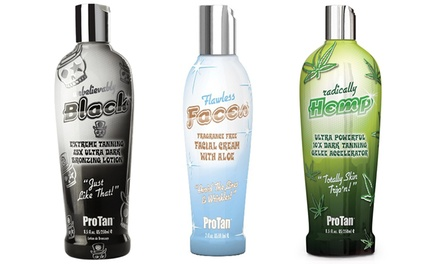 Pro Tan Facial or Body Bronzing Lotions