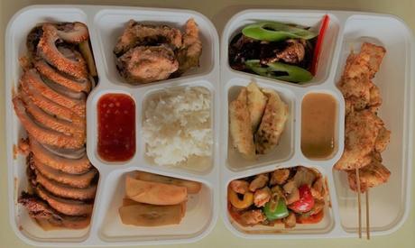 Chinesisches Menü für 2 Personen zum Mitnehmen bei Mulan Garden