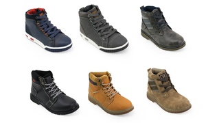 Unionbay Kids Mid-Top Casual Boots
