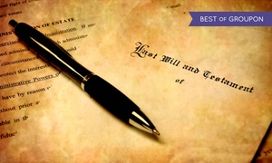 Sarali Wills & Estate Planning: Home Visit Will Writing Service for One Person or a Couple with Sarali Wills & Estate Planning (81% Off)