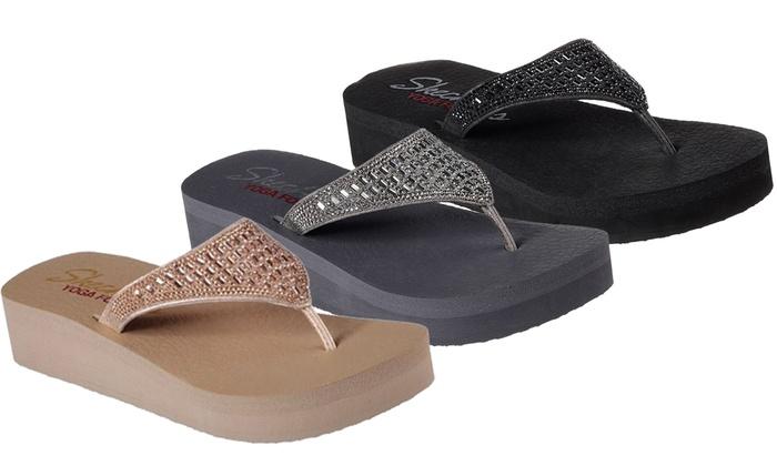 Skechers Dames slippers aanbieding | BESLIST.nl | Hippe
