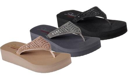 Infradito Skechers da donna