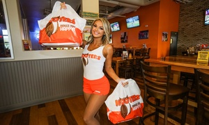 Free $10 Voucher for Hooters To Go Mobile App or Online Order at Hooters, plus 6.0% Cash Back from Ebates.