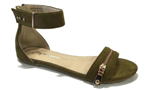 Cherrylane Flats Or Sandals Groupon Goods