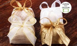 Delícias Caseiras: Delícias Caseiras – Santa Cruz: 50, 100 ou 200 unidades de bem-casados, bem-nascidos ou bem-vividos