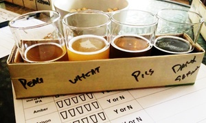 SomePlace Else Brewery: 50% Off Beer Flights and Pints from SomePlace Else Brewery (Up to $50 Value)