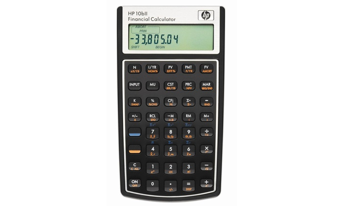 hp 10bii financial calculator groupon goods rh groupon com HP 10B Manual HP Bii Calculator