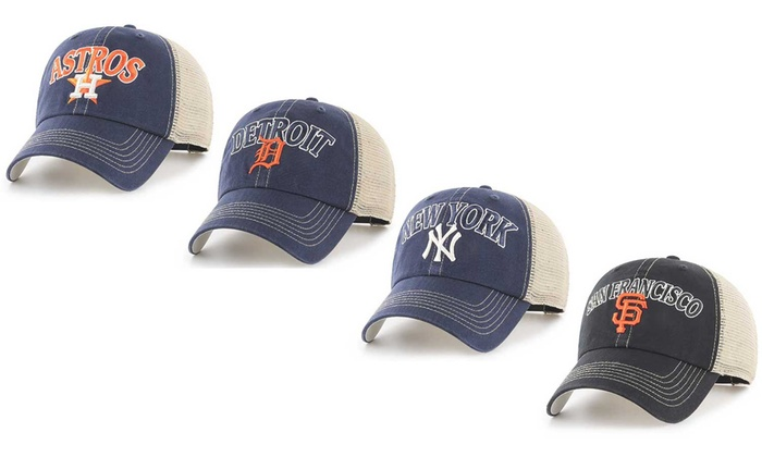 7c75f923f Up To 9% Off on MLB Aliquippa Adjustable Hat | Groupon Goods